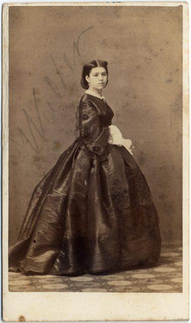 Retrato de Miss Walker