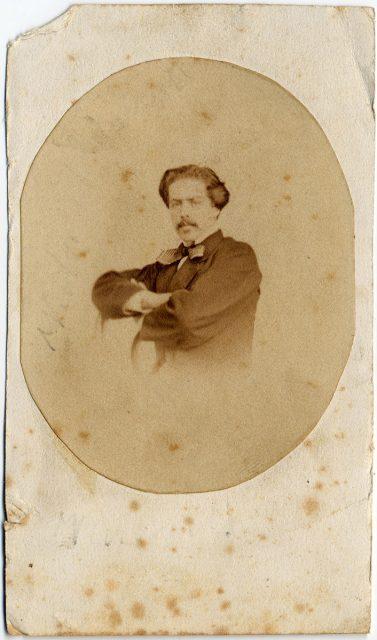 Retrato de Víctor Aldunate