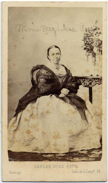 Retrato de María Magdalena Ossa Cerda