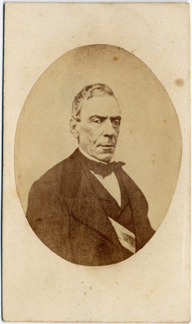 Retrato de José Joaquín Pérez