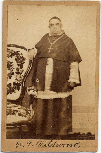 Retrato del Arzobispo Rafael Valentín Valdivieso Zañartu