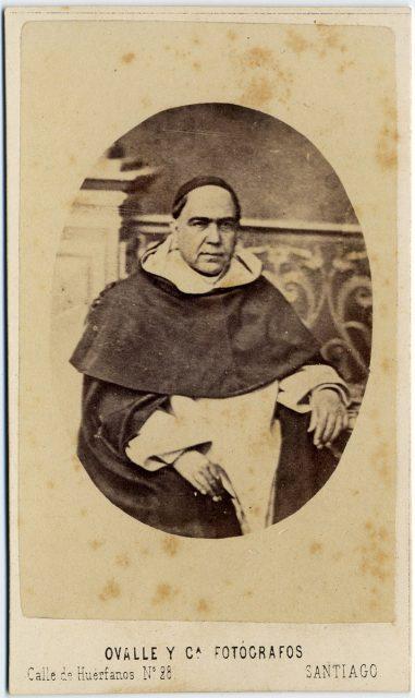 Retrato del padre Benítez