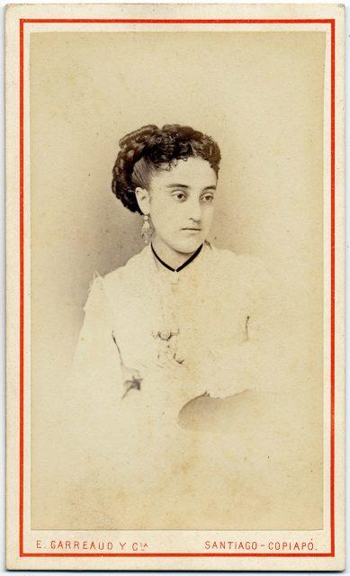 Retrato de Carmen Vidaurre