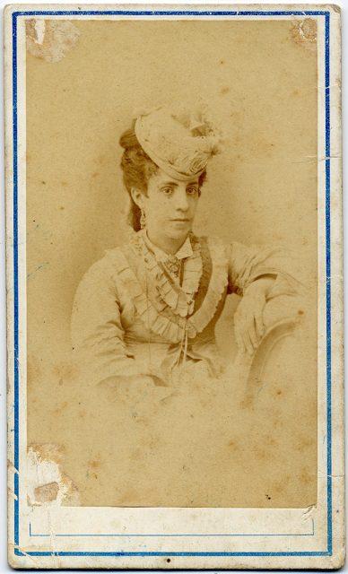 Retrato de Eloísa Joglar de Sanfuentes