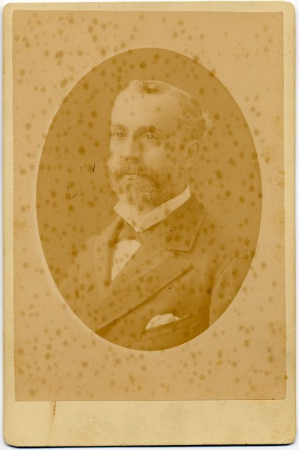 Retrato de Jorge Huneeus Zegers