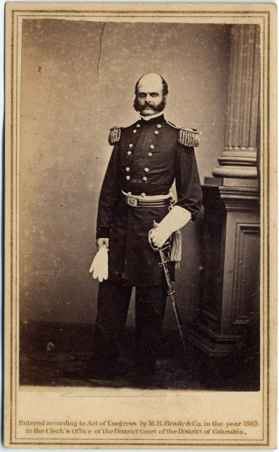 Retrato de un militar.