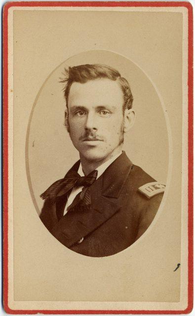 Retrato de B. F. Tilly, marinero americano