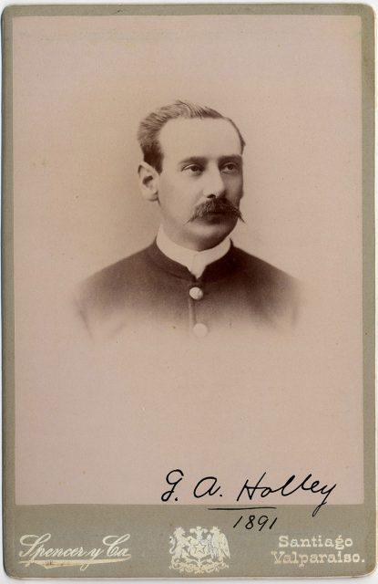 Retrato del general Adolfo Holley
