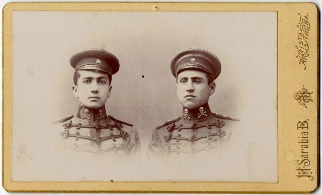 Retrato de Samuel Contardo Palma y Augusto Gana H.