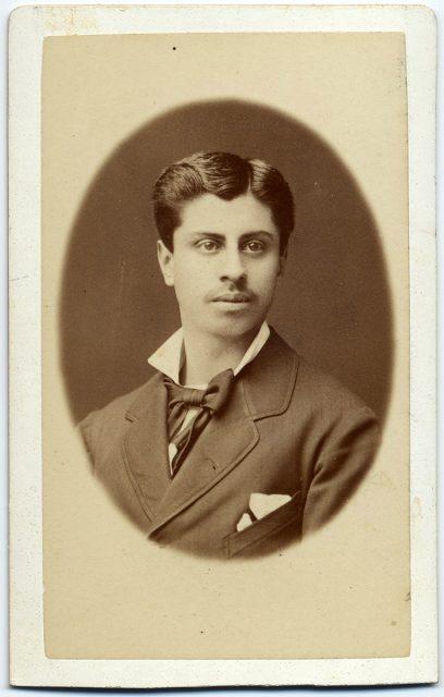 Retrato de Julio Escobar.