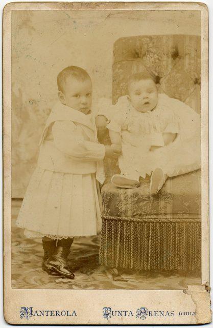 Retrato de Carlos y Alejandro Braun Menéndez