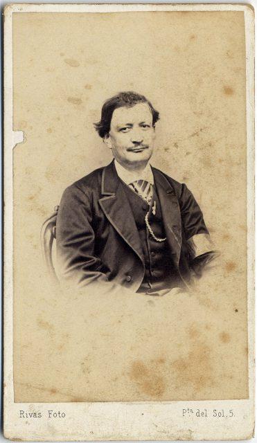Retrato de Matías Capeder