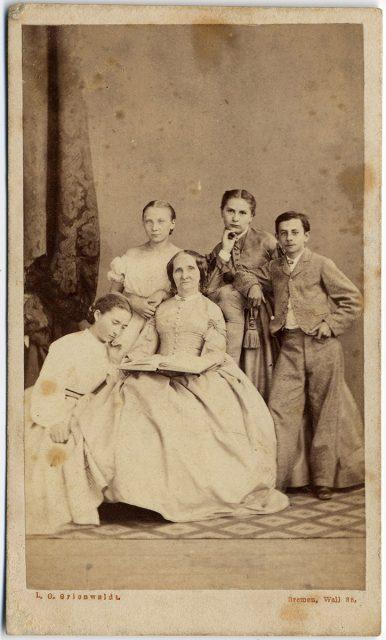 Retrato de la familia Engler.