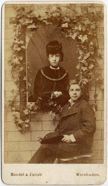 Retrato de Nicasio Toro y su hermana