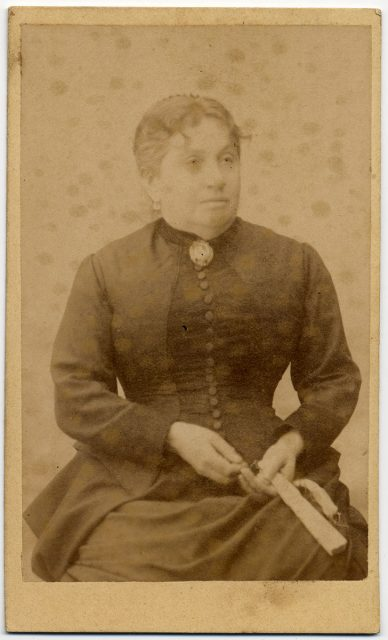 Retrato de Carolina M. de Lastarria.