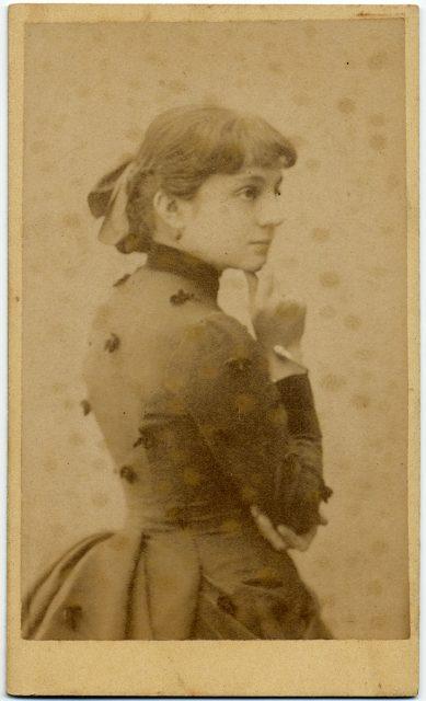 Retrato de María Luisa Lastarría.