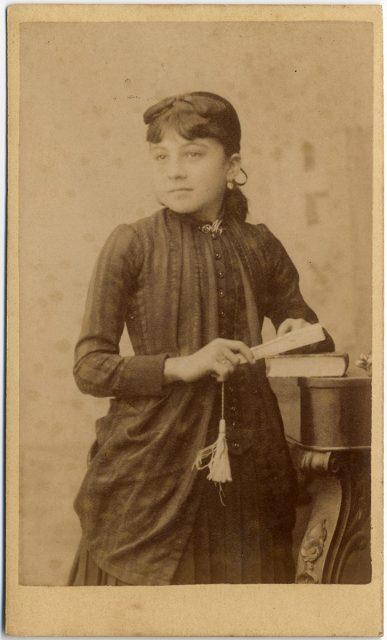 Retrato de Manuela A. Lastarría.