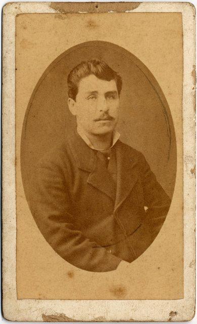 Retrato de Pedro Muñoz O.