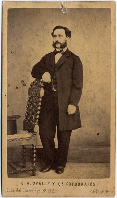 Retrato de Sandalio Letelier.