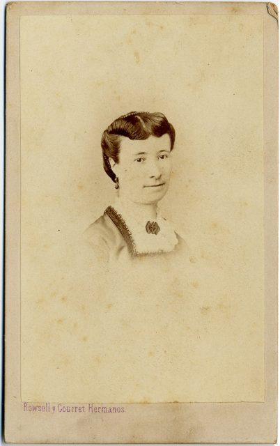 Retrato de Hortensia Merlet