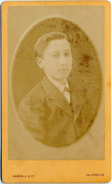Retrato de Enrique Merlet