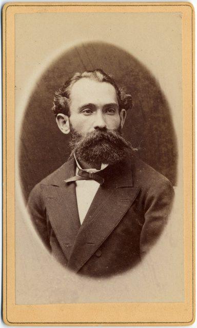 Retrato de Juan A. R. Martínez
