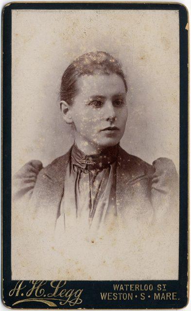 Retrato de Hannah Dorothea Senior
