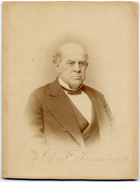 Retrato de Faustino Domingo Sarmiento