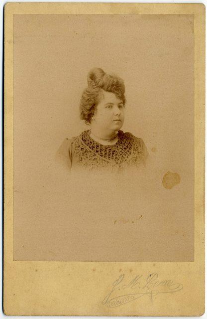 Retrato de Carlina Aguirre Corbalán.