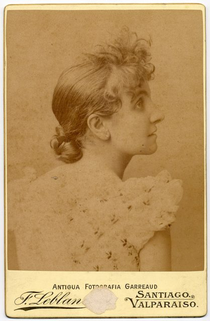 Retrato de Amelia Zañartu