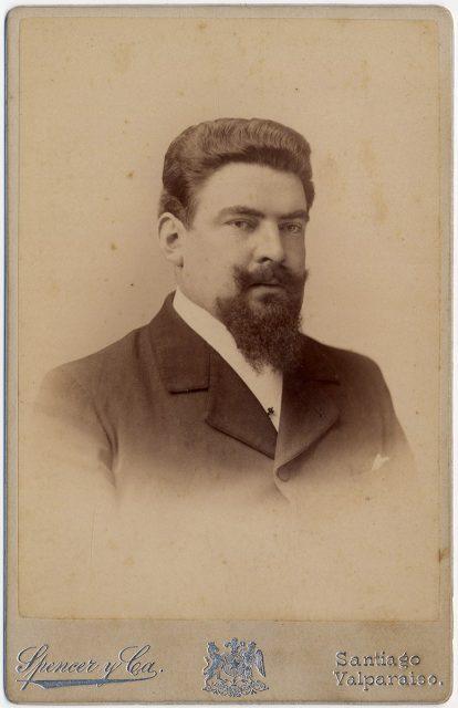 Retrato de Jorge Dandring