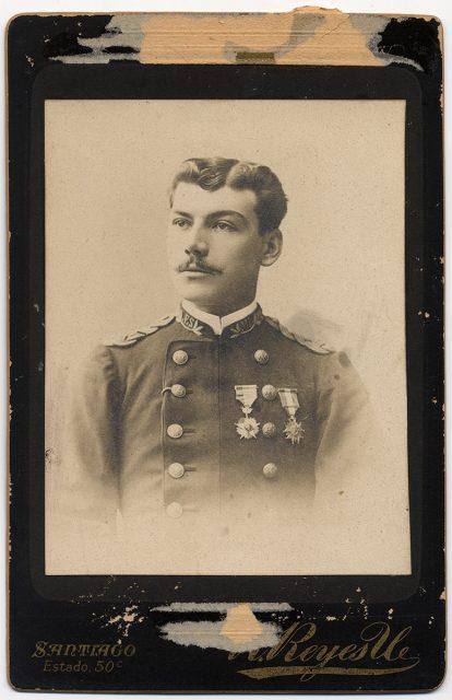 Retrato de un oficial del Estado Mayor