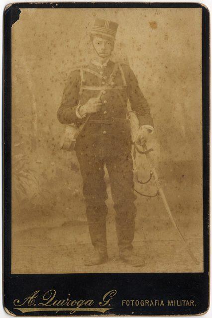 Retrato de Arturo Santa María.