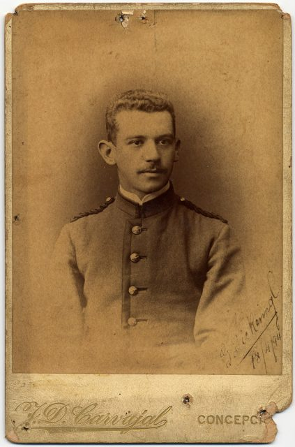 Retrato de G. Pickering C.