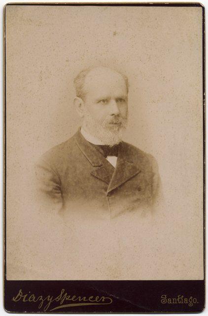 Retrato de Manuel Vásquez