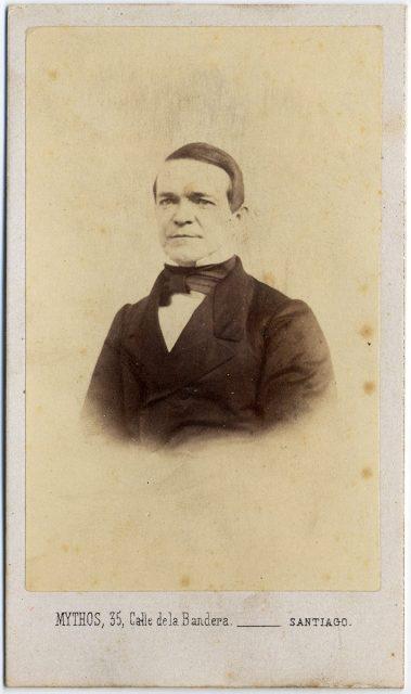 Retrato de José Miguel Barriga