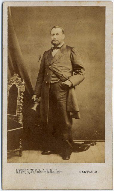 Retrato de Pedro Elizalde Ferrera