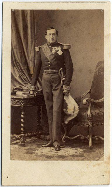 Retrato de Louis Philippe d'Orléans