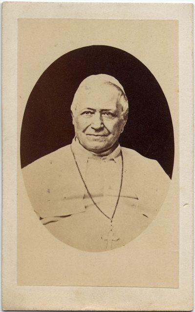 Retrato del Papa Pio IX