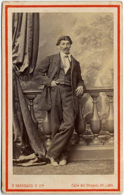 Retrato de Guillermo Pizarro a los 39 años de edad.