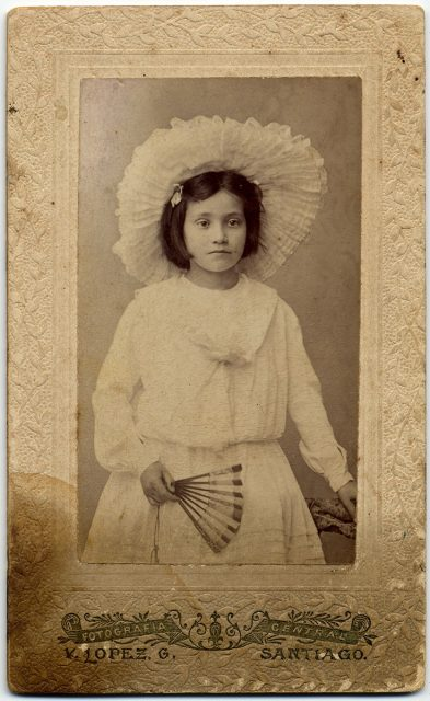 Retrato de Georgina Bingley Summer.
