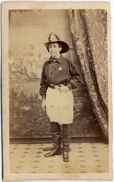 Federico Severín, voluntario de la Tercera Compañía de Bomberos de Valparaíso.