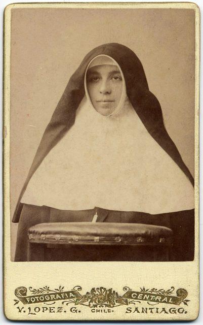 Retrato de Sor María Esperanza Zúñiga.
