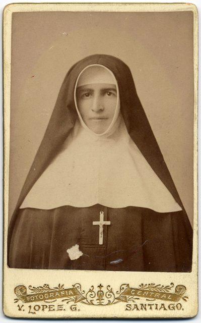 Retrato de Sor Rafaela García