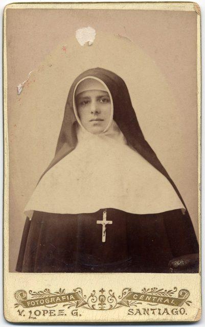 Retrato de Sor Teresa de Jesús Vergara