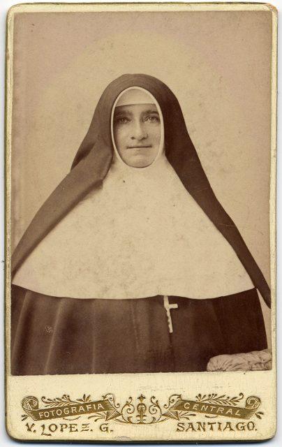 Retrato de Sor María de San José Herrera