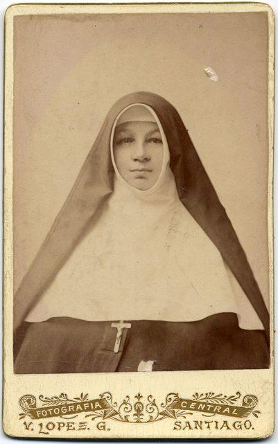 Retrato de Sor María de San Luis Peralta