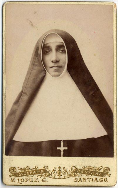 Retrato de Sor Esperanza de la Trinidad Rosende