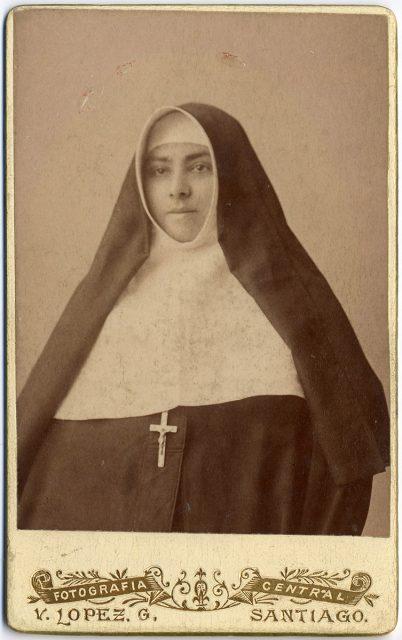Retrato de Sor Rosa de Jesús Martínez
