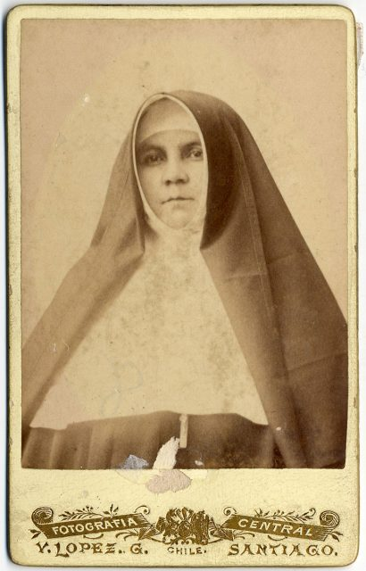Retrato de Sor Magdalena Méndez Patiño